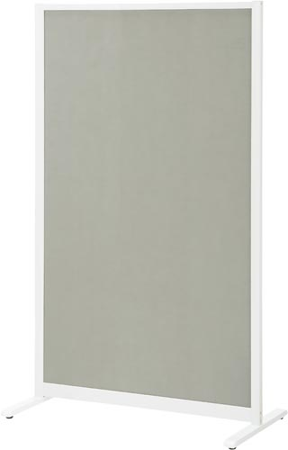 【送料・組立・設置が無料】-(428-044)パーティションホワイトボード幅900グレー プラス株式会社kaf005485 -【お買い得商品】