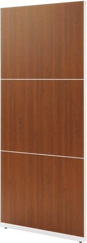 【送料・組立・設置が無料】-(Z-PL-0921DM)パネリア ブラウン 高2100幅900 株式会社ノアkaf005383 -【お買い得商品】