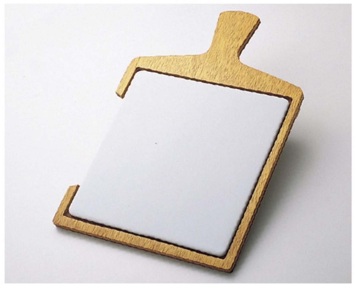 【送料無料】-軟膏板(木柄)30cm 30X30CM 品番 my08-2625-05-- 1入り-【MY医科器機】