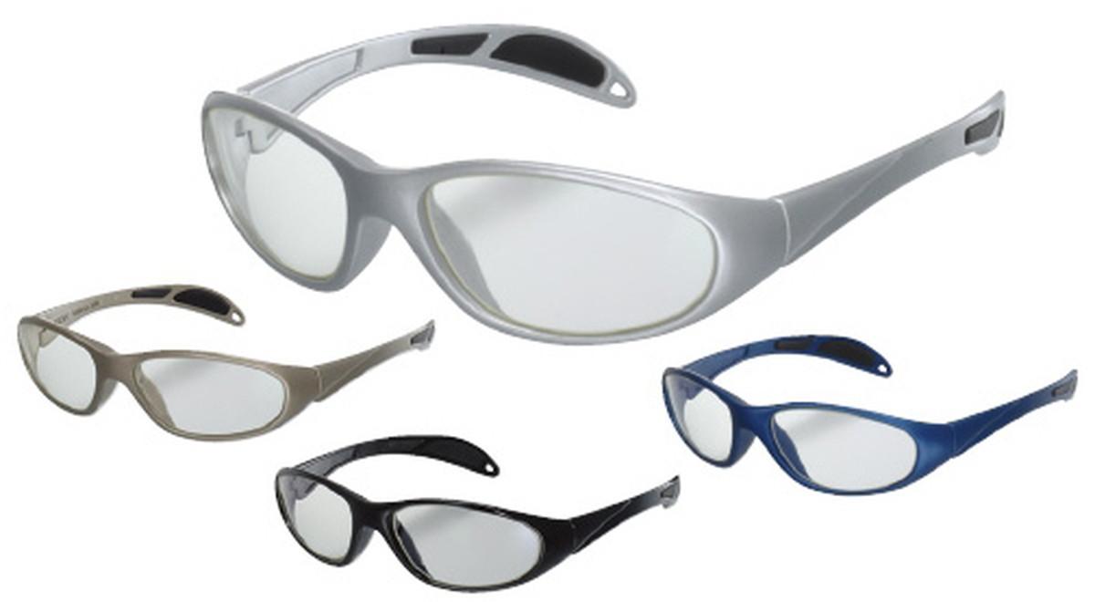 ★ポイント最大16倍★【送料無料】-放射線防護眼鏡プロテックアイウェア PT-99DB(ダークブルー) 品番 my19-3500-03-- 1入り-【MY医科器機】JAN 4580331429788