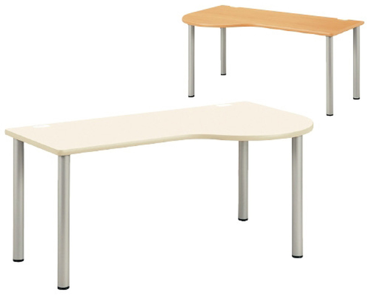 【送料無料】-ドクターテーブル(左R) NSD-1690L(160X90X70) 品番 my23-5113-0302 1入り-【MY医科器機】