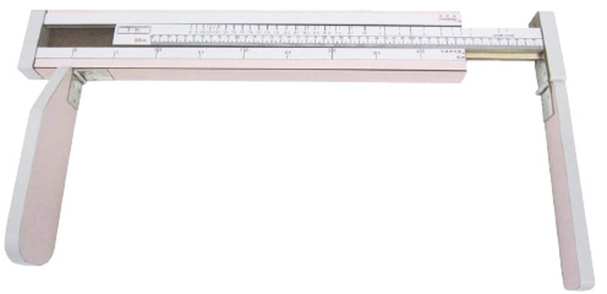 ★ポイント最大16倍★【送料無料】-乳児用三ツ折型身長計 YS802-P(90CM)ピンク 品番 my23-6883-00-- 1入り-【MY医科器機】