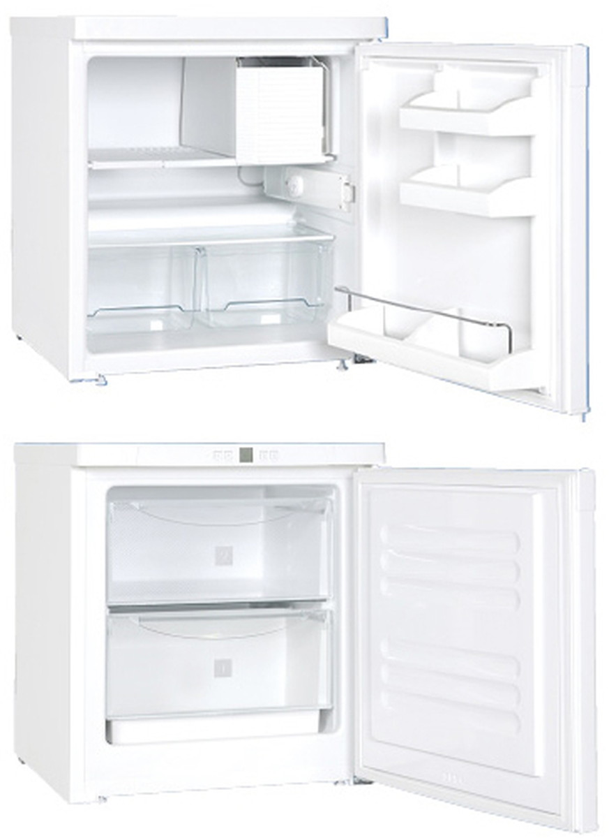 ★最大P24倍★ 1/9-1/16【全国配送可】-小型冷凍庫 ミニキューブ GX-823HC(69L) 品番 my24-2894-01-- 1入り-【MY医科器機】