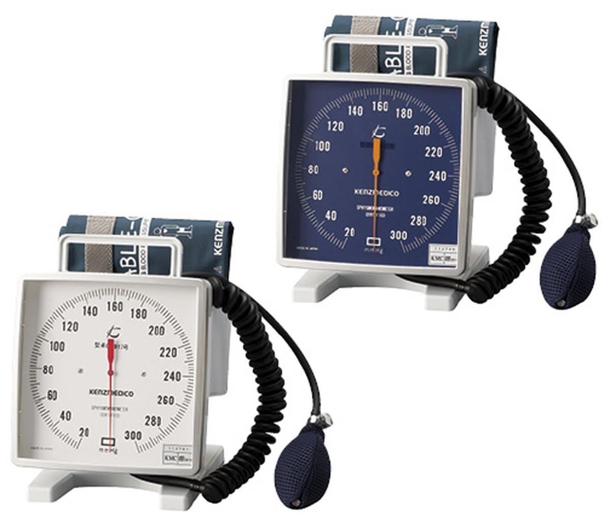 ★最大P24倍★ 1/9-1/16【送料無料】-大型アネロイド血圧計(卓上型)Wカフ NO.543(ブルー)Wカフ 品番 my24-3263-01-- 1入り-【MY医科器機】JAN 4560105682113