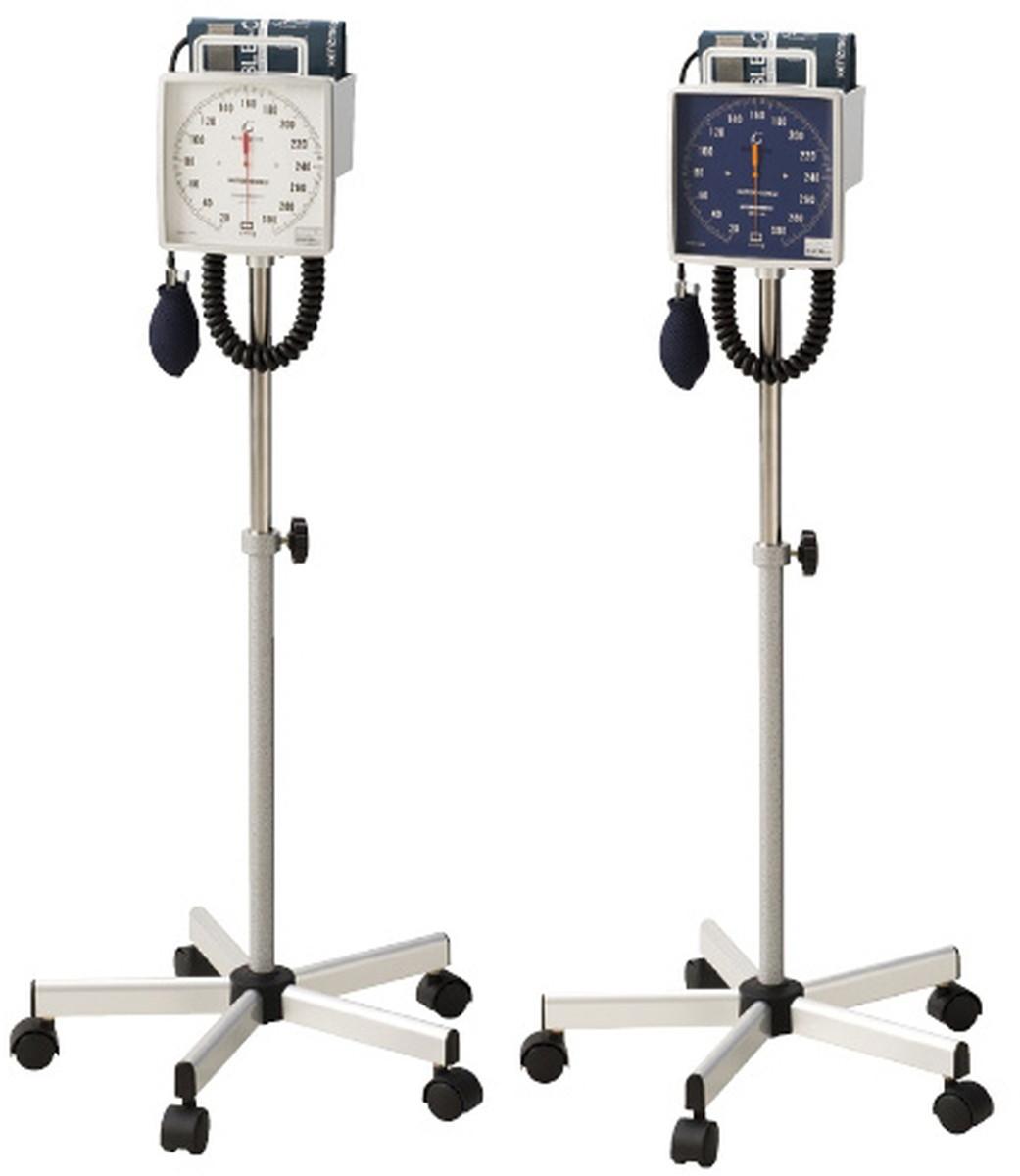 ★ポイント最大16倍★【送料無料】-大型アネロイド血圧計(スタンド型) NO.542(ブルー)Wカフ 品番 my24-3265-01-- 1入り-【MY医科器機】JAN 4560105682090