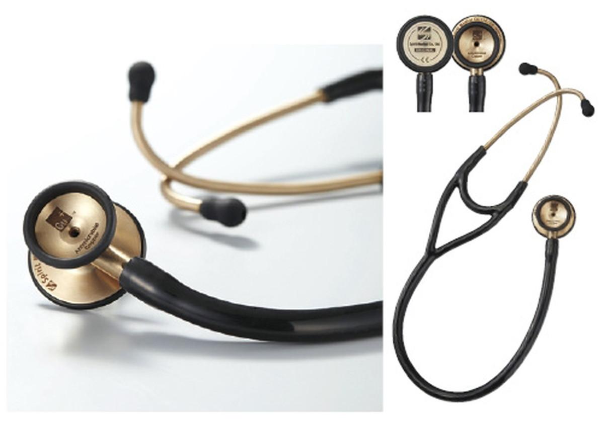 ★最大P24倍★ 1/9-1/16【送料無料】-Spirit聴診器 クーパーDX CK-CU747PF(ブラック) 品番 my24-3625-00-- 1入り-【MY医科器機】JAN 4535847003267