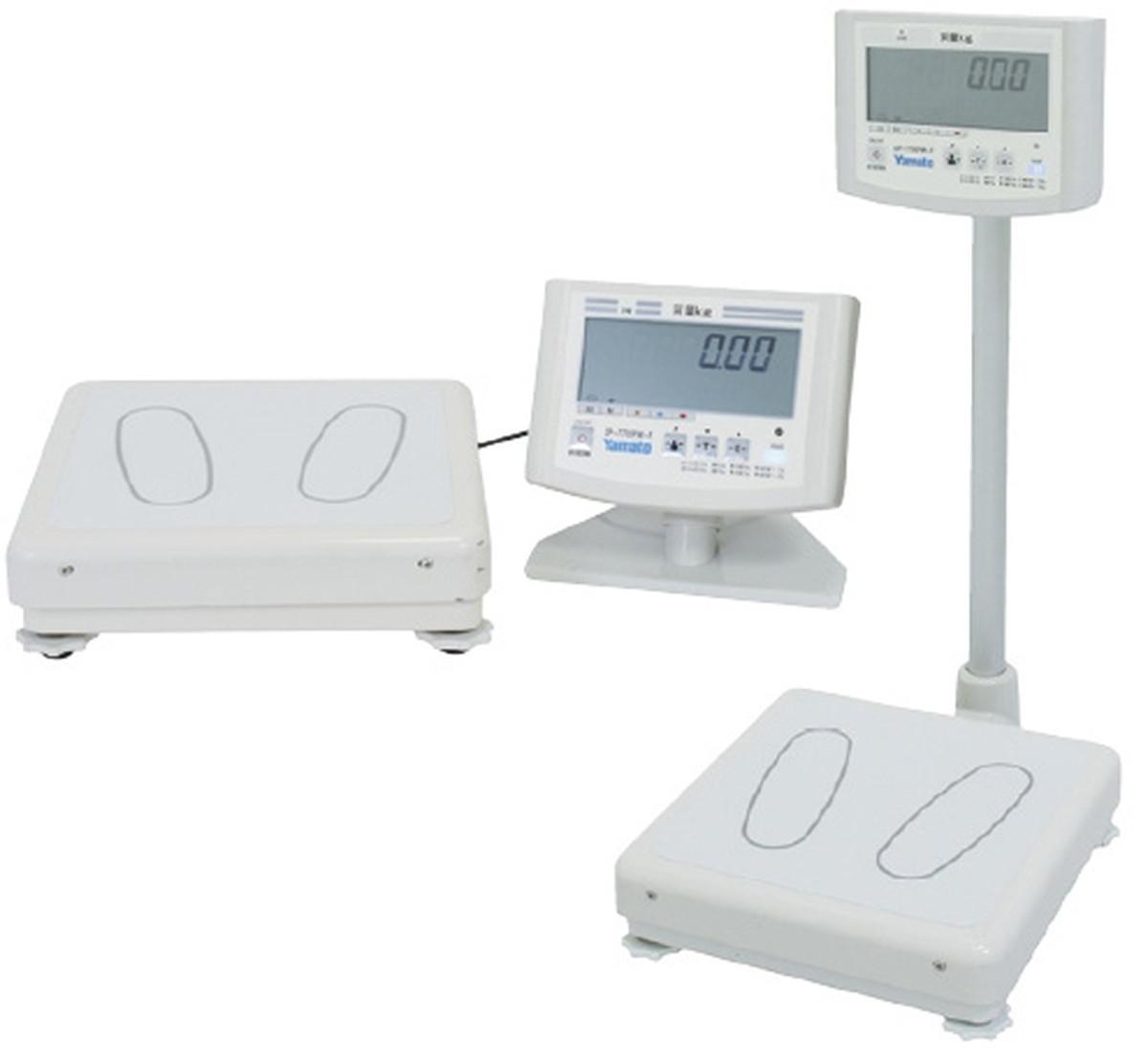 【送料無料】-デジタル体重計(検定品)一体型 DP-7700PW-F 品番 my24-4106-00-- 1入り-【MY医科器機】JAN 4979916832417