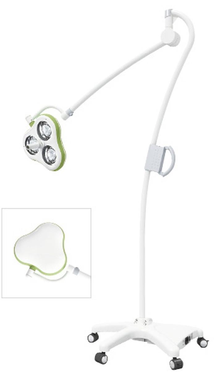 【全国配送可】-LED照明灯 IXMクローバー(3灯 CS03GV(スタンドシキ) 品番 my24-4184-00-- 1入り-【MY医科器機】JAN 4580322682239