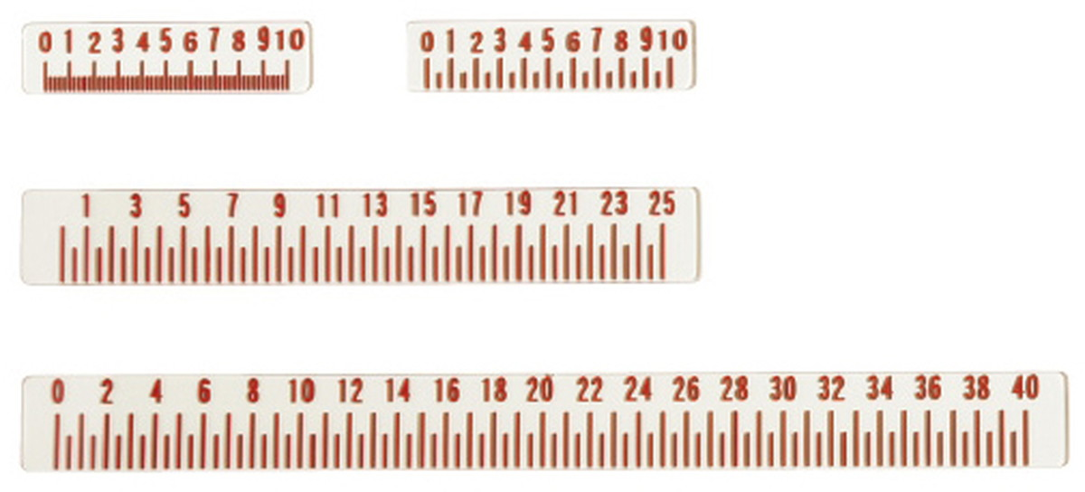 3/21-28★P最大24倍★【送料無料】-X線メジャー 40CM(メモリ2MM) 品番 my24-4485-04-- 1入り-【MY医科器機】JAN 4562499374209
