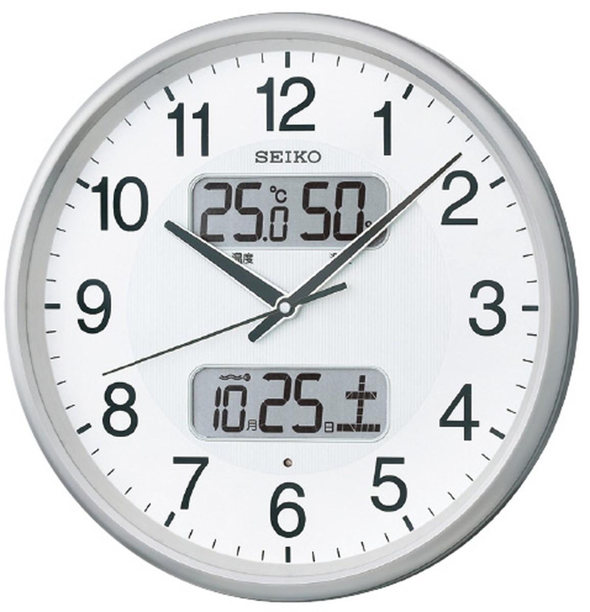 ★ポイント最大16倍★【全国配送可】-セイコー 電波アナログ掛時計 KX383S 品番 my24-4612-00---【MY医科器機】JAN 4517228035081