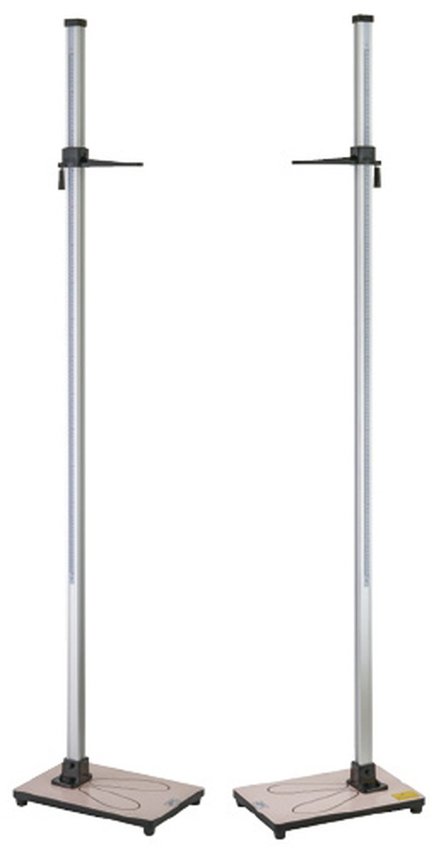 ★最大P24倍★ 1/9-1/16【送料無料】-シルバー身長計 YS501-P(2.0M) 品番 my24-4942-00-- 1入り-【MY医科器機】