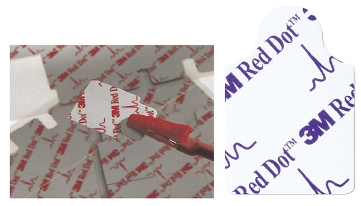 ★ポイント最大14倍★【送料無料】-レッドダット心電図検査用電極 2330(30X20MM)100コ 品番 my24-5148-00-- 40入り-【MY医科器機】JAN 0707387195458