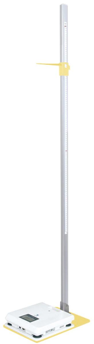 【送料無料】-小児用手動式身長計付デジタル体重計 WSH-16(ケンテイツキ) 品番 my24-6339-00-- 1入り-【MY医科器機】