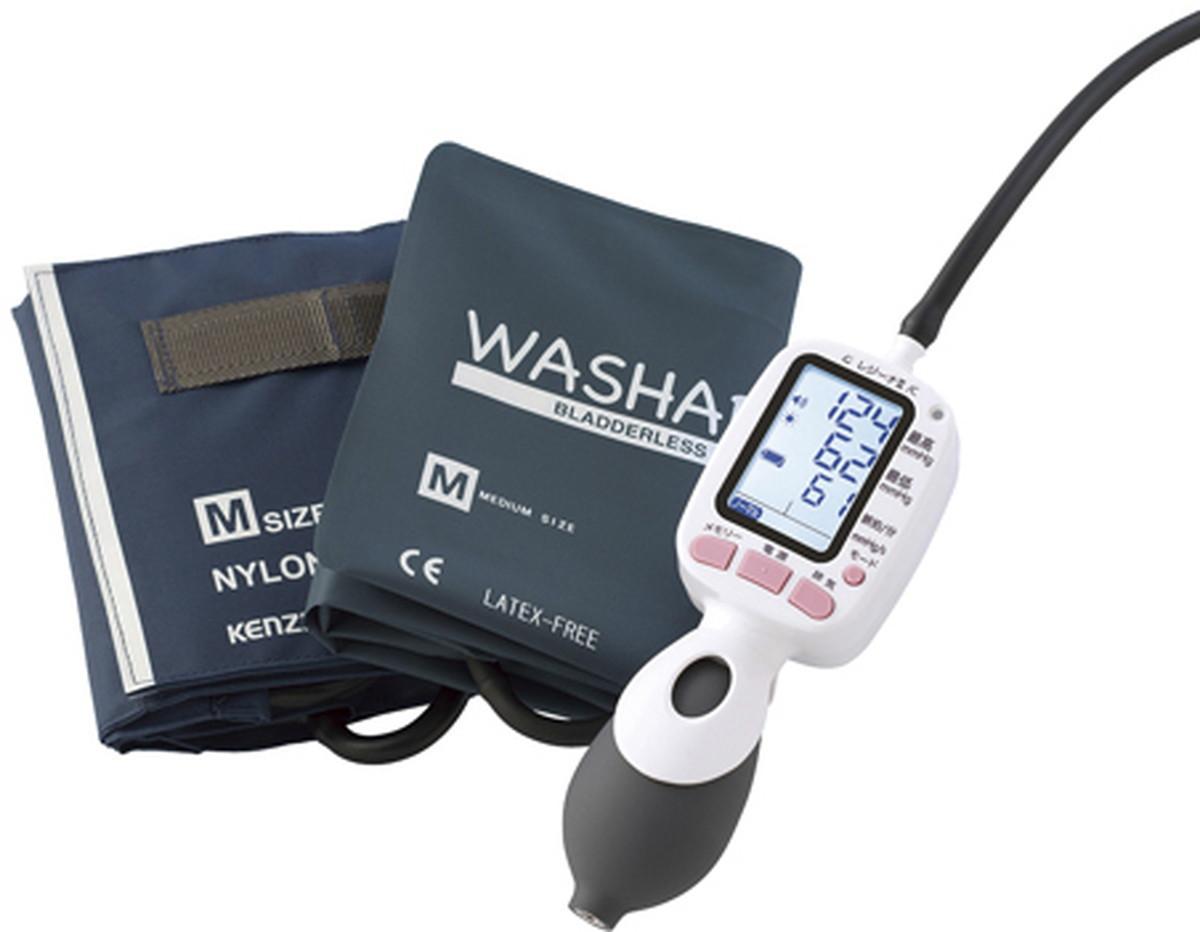 【送料無料】-ワンハンド電子血圧計レジーナ(通信 0370B111(ウォッシャブルS) 品番 my24-6412-00-- 1入り-【MY医科器機】JAN 4560105682878