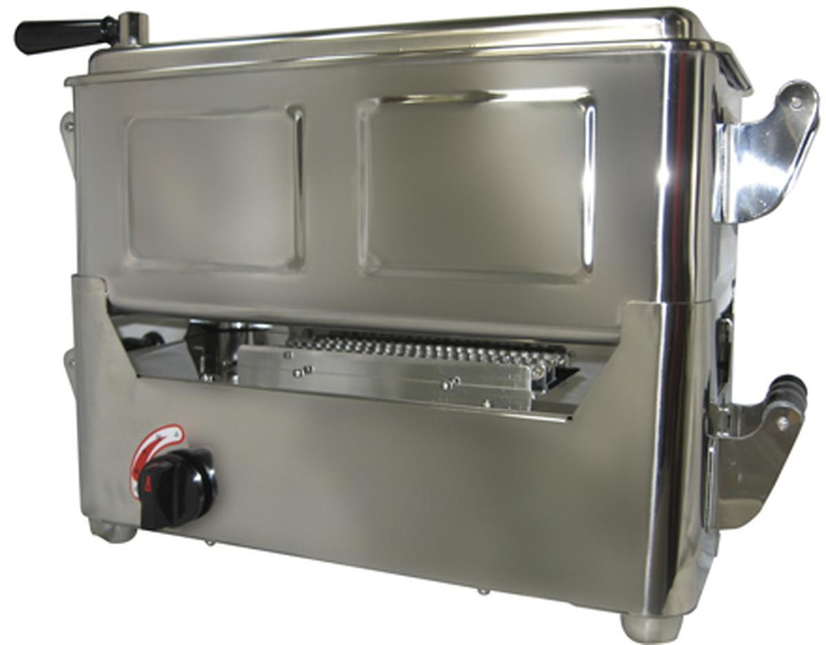 【送料無料】-卓上業務用煮沸器(圧電式)自動点火 36G(360X180X120MM) 品番 my24-6856-0002 1入り-【MY医科器機】