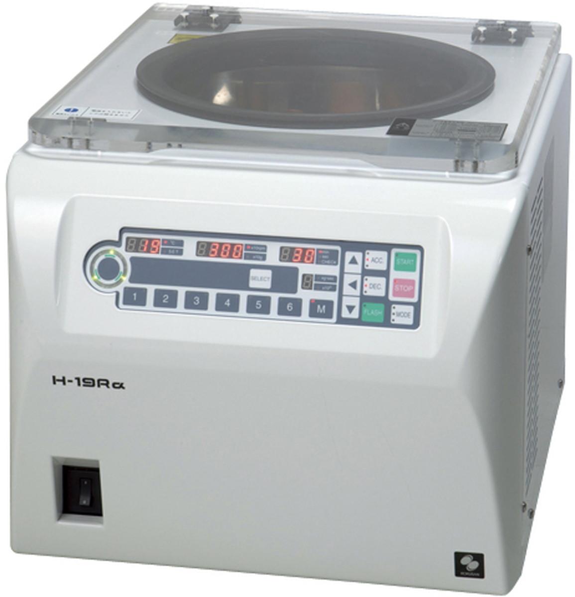 【送料無料】-冷却遠心機(卓上型)本体のみ H-19Rアルファ 品番 my24-6891-00-- 1入り-【MY医科器機】