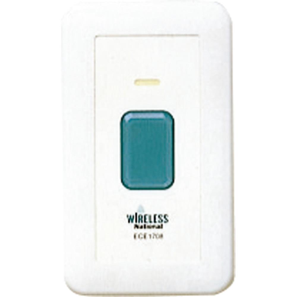 ワイヤレス壁掛コール発信器 パナソニック 品番 ECE1708P F00584 JAN 4989602307631