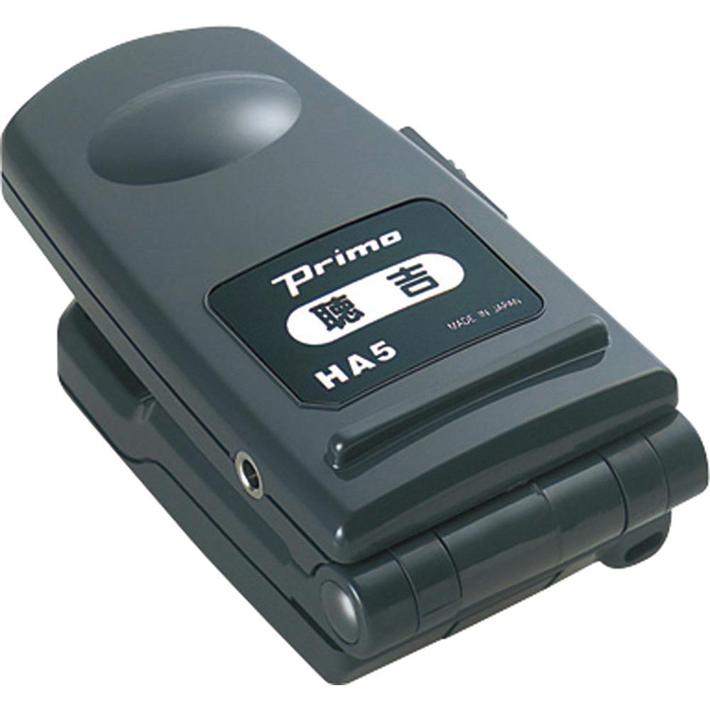 ハンディタイプマイクレシーバー 聴吉 HA-5 プリモ 品番 HA-5 A1155 JAN 4954934414036