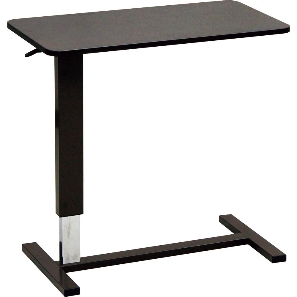 昇降ベッドテーブル ダークブラウン 大商産業 品番 LW-80 DB C2605071 JAN 4980710041622
