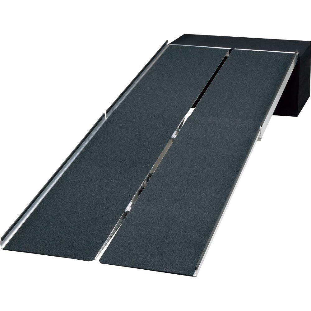 ポータブルスロープアルミ4折式 2.1m イーストアイ 品番 PVW210 F00823 JAN 4515914901191