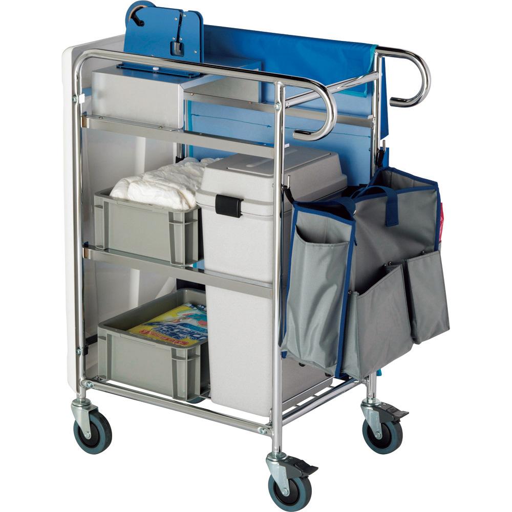 おむつ専用回収カート テラモト 品番 DS-240-100-0 G1057 JAN 4904771111179
