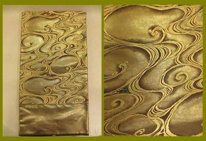 帯の老舗 泰生織物 本金漆箔 高級 袋帯『新品 展示品 絹 送料無料 留袖・色留