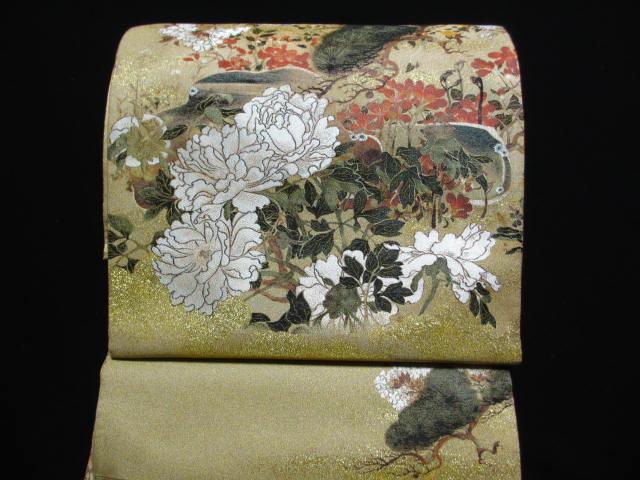 送料無料 織絵巻 とみや 二十一 世紀 記念高級 礼装 袋帯    展示品  絹