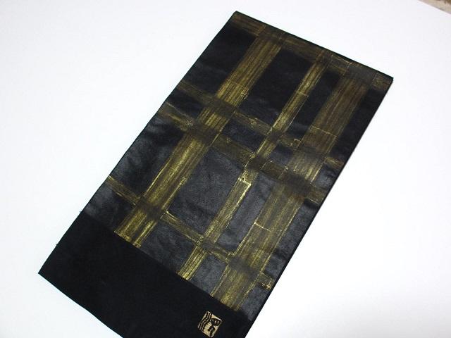 勝山織物JUNKO KOSHINO袋帯展示品 絹100% 送料込み