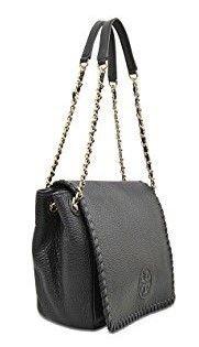 トリーバーチ  Tory Burch レディースバッグ Marion Small Flap Shoulder Bag チェーン ショルダーバック ブラック 黒【あす楽対応】