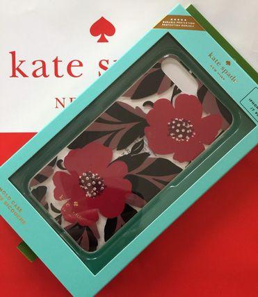 ケイトスペード Kate spade アイフォンケース 8plus/7plus iphone ジュエル ポピー フィールド 代引き不可