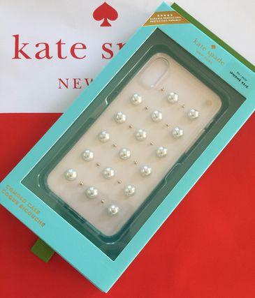 ケイトスペード Kate spade アイフォーンケース パール スタッド X/Xs iphone cases 可愛い 代引き不可【あす楽対応】