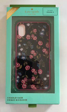 ケイトスペード 8aru2944 Kate spade アイフォンケース X/Xs jeweled meadow 小花柄 代引き不可