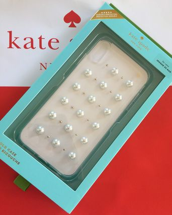 ケイトスペード Kate spade アイフォーンケース パール スタッド Xs MAX iphone cases 可愛い 代引き不可【あす楽対応】
