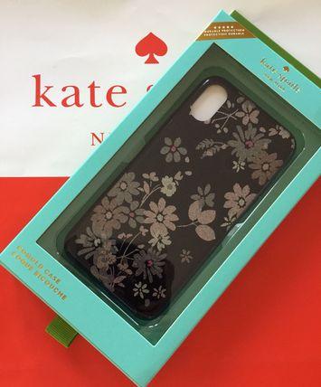 ケイトスペード Kate spade アイフォンケース グリッター プチ ポージーiphone cases glitter petite posy- XS MAX ネイビー系 代引き不可【あす楽対応】