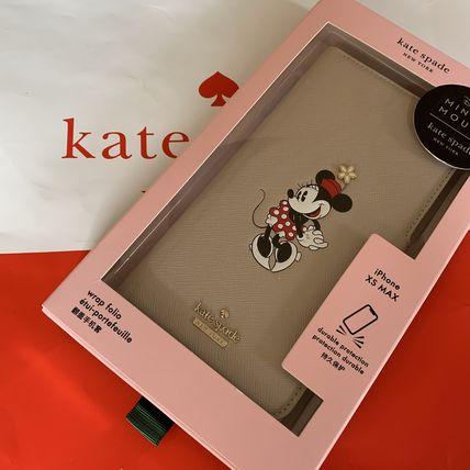 ケイトスペード Kate spade 手帳型 ミニーマウス アップリケ フォリオ アイフォーンケース Xs Max 代引き不可【あす楽対応】