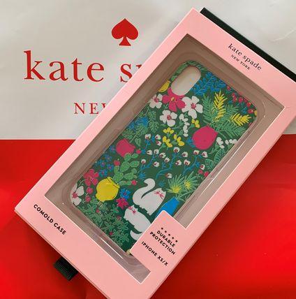 ケイトスペード jeweled garden posy kate spade iphone Xs/X グリーンマルチ 代引き不可【あす楽対応】SALE