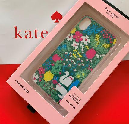 ケイトスペード jeweled garden posy kate spade iphone XR グリーンマルチ 代引き不可 SALE