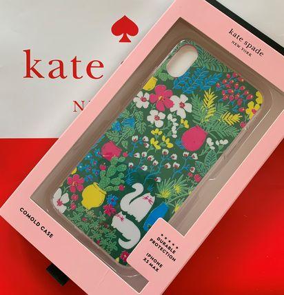 ケイトスペード jeweled garden posy kate spade iphone Xs MaX グリーンマルチ 代引き不可【あす楽対応】SALE
