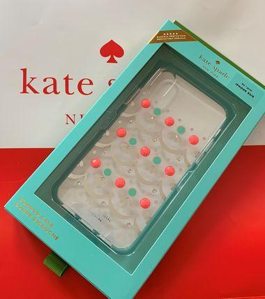 日本在庫あり・即日出荷可能 レターパック・ネコポス送料込み ケイトスペード Kate spade アイフォンケース X/XS エンベリッシュ クリア 代引き不可