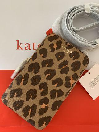 ケイトスペード Kate spade マルゴーレオパードフォン クロスボディ