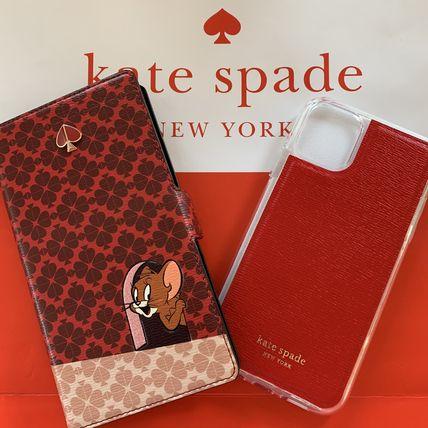 ケイトスペード Kate spade 手帳型と単品使用 トム アンド ジェリー フォリオ iPhone 11 PRO 代引き不可【あす楽対応】