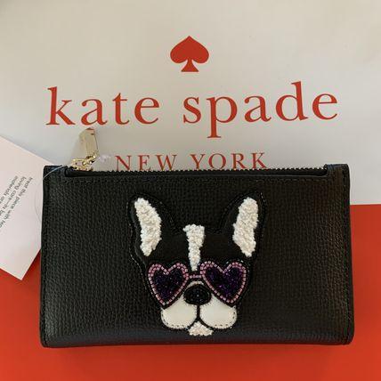 ケイトスペード レディース財布 KATE SPADE ビーズ フランソワ スモール スリム バイフォールド ウォレット