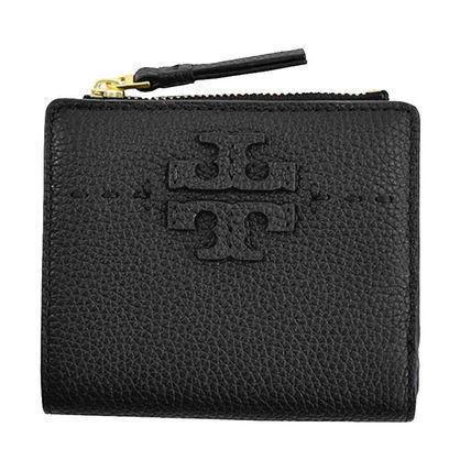 日本在庫あり 即日出荷可能レターパック 公式通販 ネコポス 格安 価格でご提供いたします 送料無料 トリーバーチ 財布 TORY あす楽対応 二つ折り 黒 ロゴ ミニ財布 ブラック BURCH