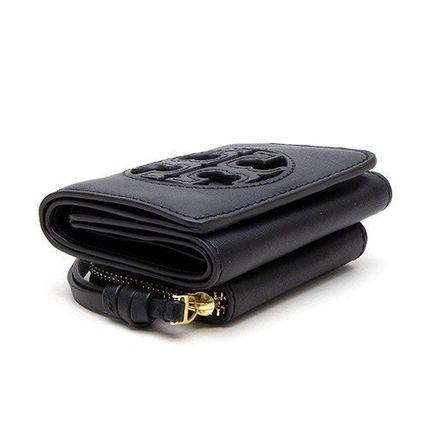 日本在庫あり 即日出荷可能レターパック ネコポス 送料無料でお届けします 送料無料 トリーバーチ 財布 小銭入れ付き セットアップ BURCH ブラック 3つ折り財布 TORY 黒