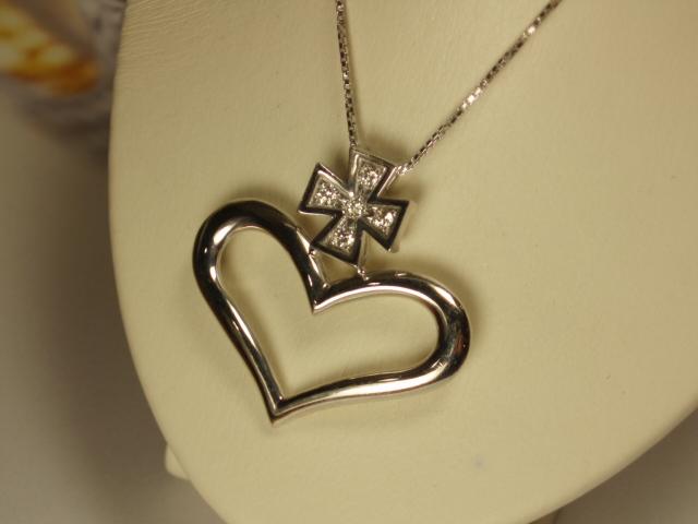 【送料無料】☆DuNoA*神田うの☆**ダイヤプチネックレス**Rediant Heart**75012 【あす楽対応】