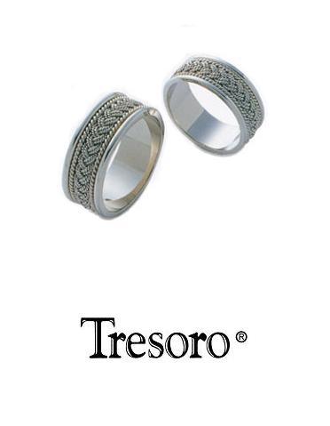 【送料込み】結婚指輪**MARRIGE RING☆Tresoro**White gold crochet**01K42/01H42*k18WG