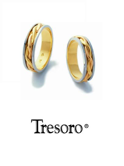 【送料込み】結婚指輪**MARRIGE RING☆Tresoro**Graceful ivy**04D75/04E75*k18