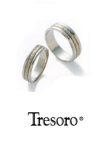 【送料込み】結婚指輪**MARRIGE RING☆Tresoro**Botanical Crown**11F72/11D72*k18WG