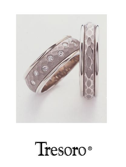 【送料込み】結婚指輪**MARRIGE RING☆Tresoro**Simplicity**88E72*k18WG