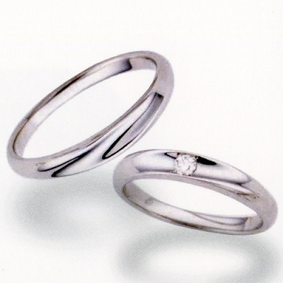【送料込み】☆POUR de VRAI☆天使のダイヤモンド ◇ANGE**結婚指輪